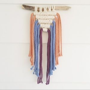 Other - Colourful Macrame Wall Hanging